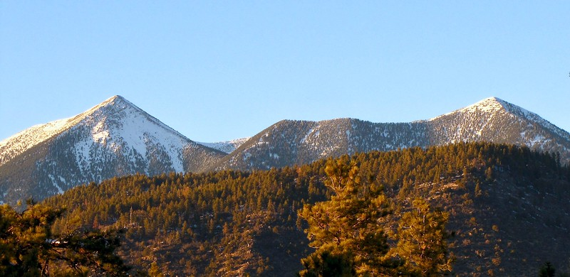 San Francisco Peaks viewed from Buffalo Park (2013)