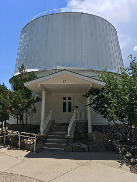 Main telescope building at Lowell Observatory (2017)