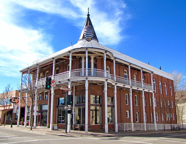 Historic Weatherford Hotel in Downtown Flagstaff (2011)