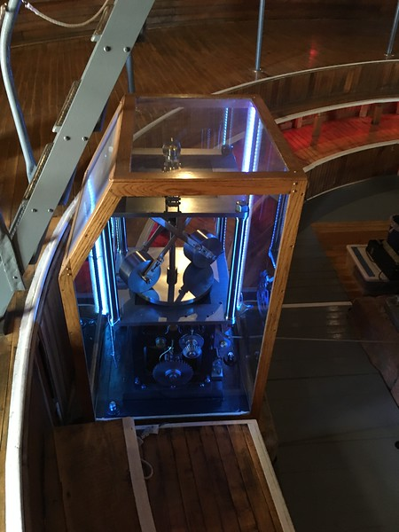 Inside main telescope at Lowell Observatory (2017)