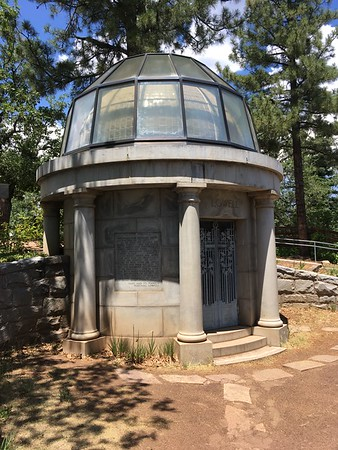 Tomb of Percival Lowell at Lowell Observatory (2017)