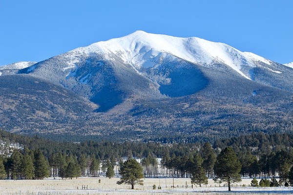 Humphreys Peak - Highest point in Arizona at 12,637 feet (2018)
