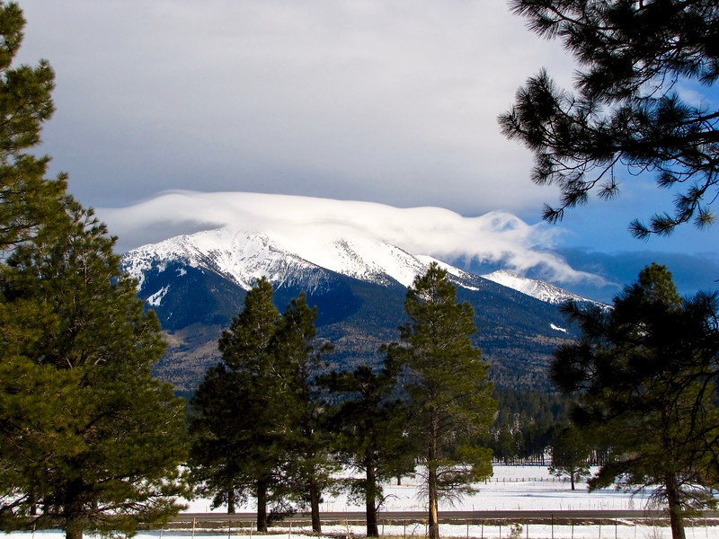 Clouds over the San Francisco Peaks (2011)