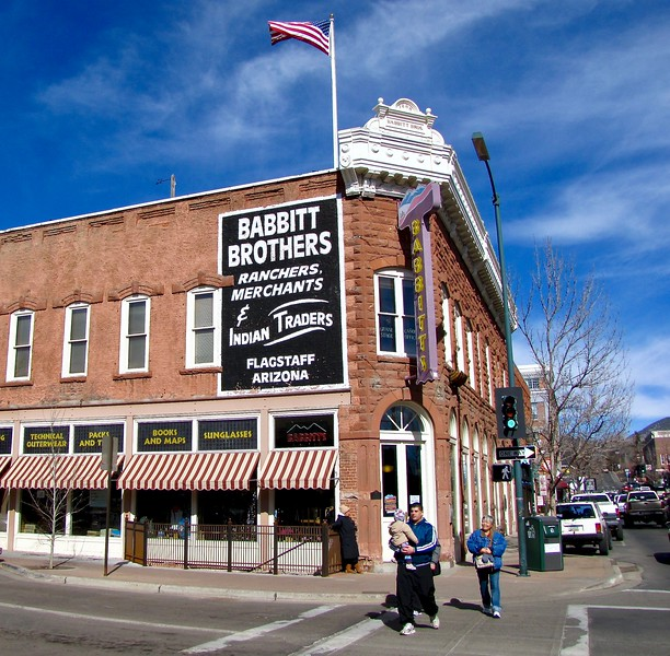 Babbitt Brothers store in Downtown Flagstaff (2011)