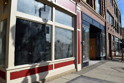 The future home of Slows Bar BQ, which has locations in Detroit and Grand Rapids, connected to  the Flagstar Strand Theatre for the Performing Arts on Wednesday, Oct. 19, 2016.