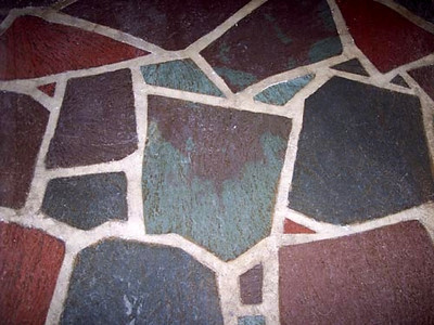 Mixed Color Multi Color Valley Run Irregular Flagstone