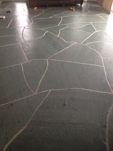 "25 "" Unfading Green 3/4-1"" Irregular Flagstone"