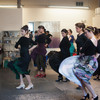 "Lakshmi Basile Workshop : Lakshmi Basile (""La Chimi"") January 2012 flamenco dance workshop in Cambridge, MA."