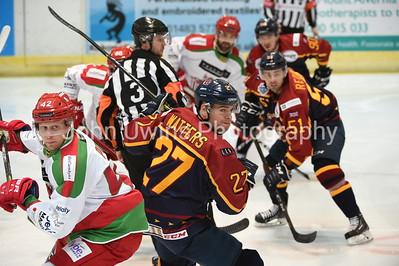 vs Cardiff Devils (2 games)