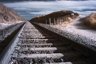 Railway Tracks - Close to Bean Hollow USA