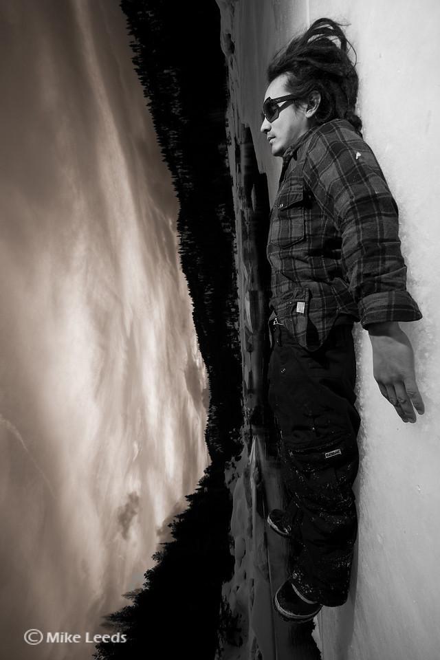Ryan Bailey falling off earth
