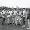 ED HOLSHEK/P-R FILE PHOTO<br /> <br /> Saranac High lacrosse coach Bob Hudak briefs his Chiefs on some all-important final reminders during a practice session April 23, 1970. Hudak was in his final season at the helm of the program.