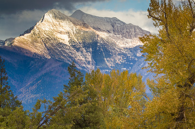 Fall in the Missons - St. Ignatius, Montana