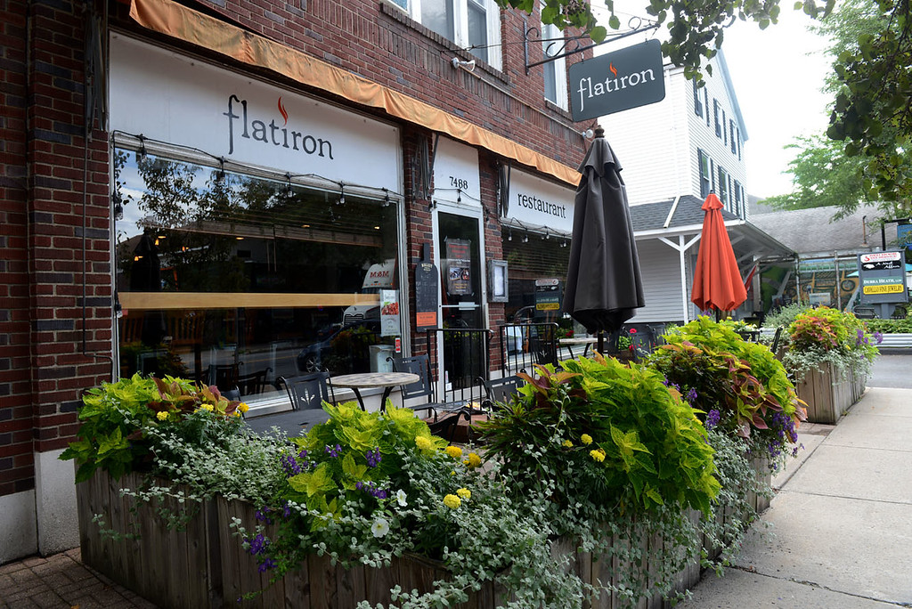 . Tania Barricklo-Daily Freeman    The Flatiron at 7488 South Broadway in Red Hook, N.Y.
