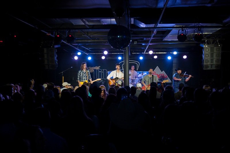 Flatland Calvary performs at The Hat in Manhattan, Kan. on Oct. 20, 2017. The band formed in 2012 and released its most recent album, Humble Folks, in 2016. (Photo by Justin Wright | Collegian Media Group)
