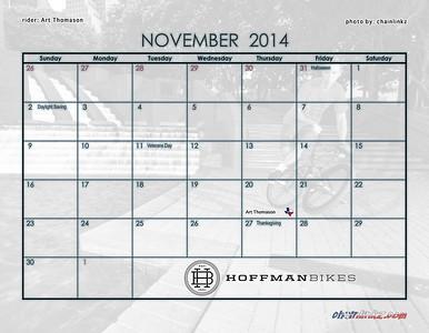 23 November Dates