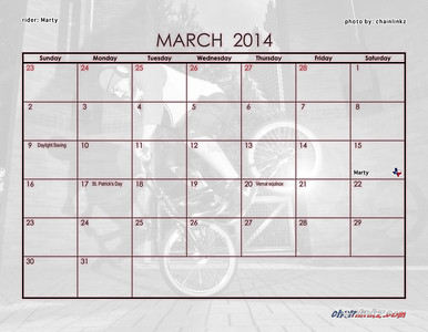 07 March Dates
