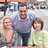 Stephanie Torzanski and Margaret Kalalian with DA Candidate Rich Negrin