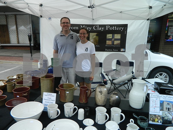 Tyler and Laura Sandstrom From Miry Clay Pottery