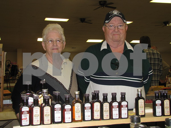 Martha and Wayne Kohls, representatives of Watkins products.