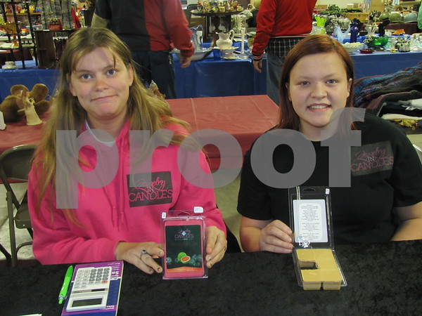 """Amanda Foster and Katlyn Foster of """"Jewelry in Candles"""""""