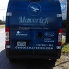 Mercedes Sprinter wrapped for the Maverick Plumbing fleet, Dallas, TX