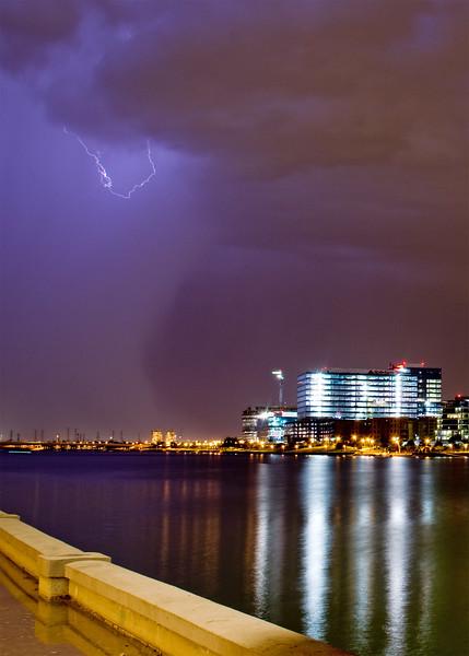 Summer storm approaching Tempe, AZ.