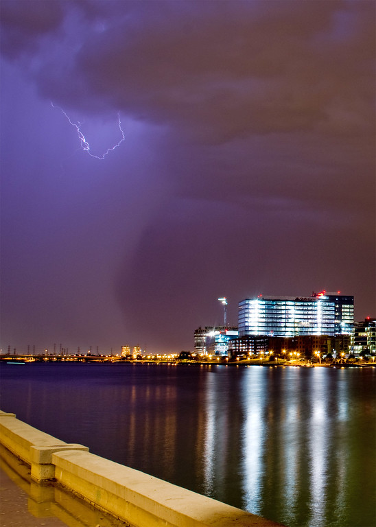 Summer storm approaching Tempe, AZ.