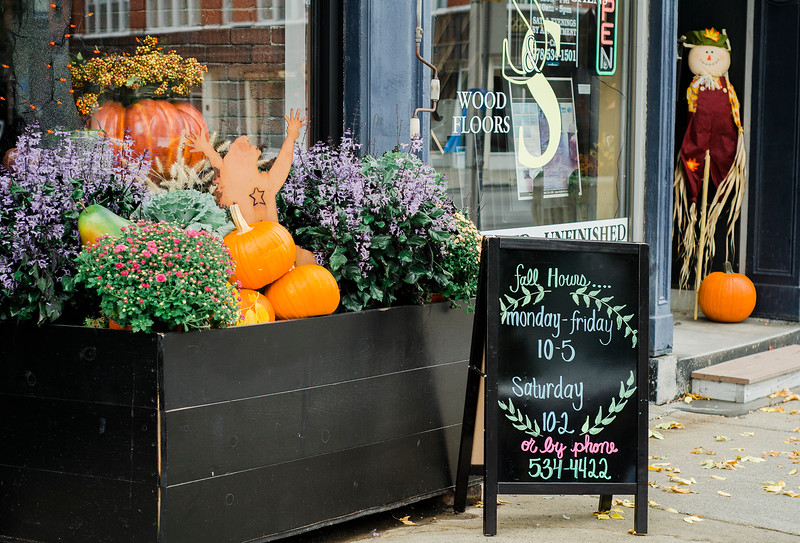 Fleur Du Jour Flower Boutique, a new business located at 5 West Street in Leominster. SENTINEL & ENTERPRISE / Ashley Green