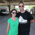Kate Lesak and Matt Kraig.