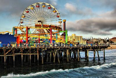 Pacific Park Santa Monica Pier Explore # 166 July 4 2013