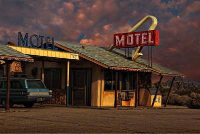 Motel in the Desert Explore # 161 October 14 2013