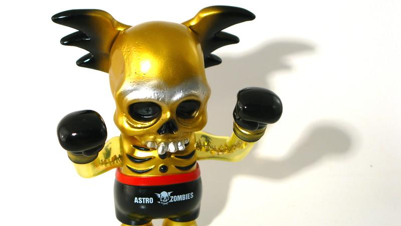 Pushead Gold Skullwing