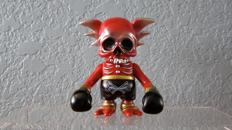 Pushead Red Skullwing