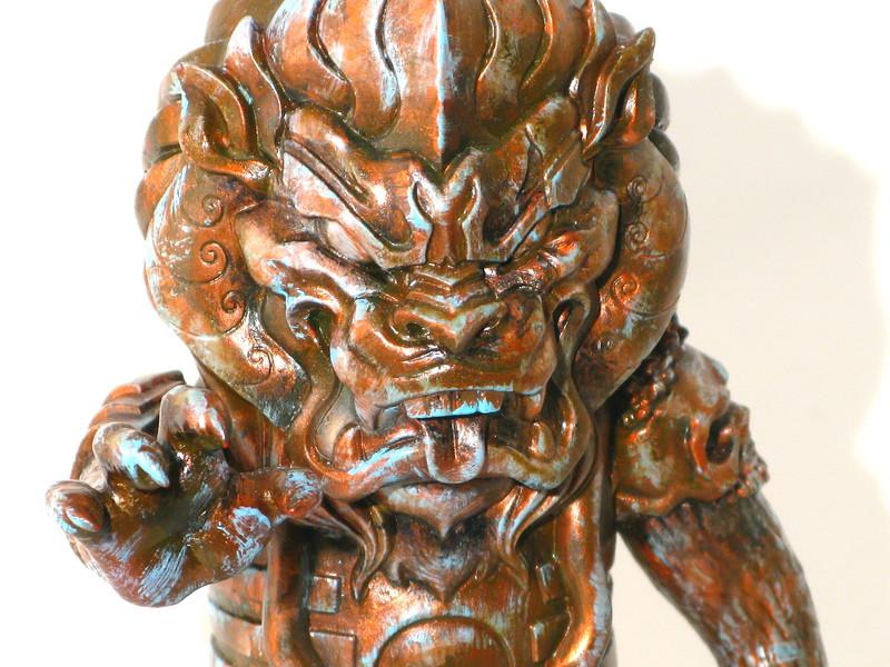 L'amour Supreme Oxidized Copper Mongolion