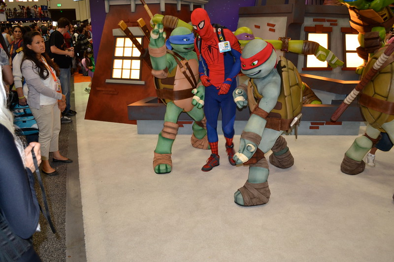 TMNT x Spiderman
