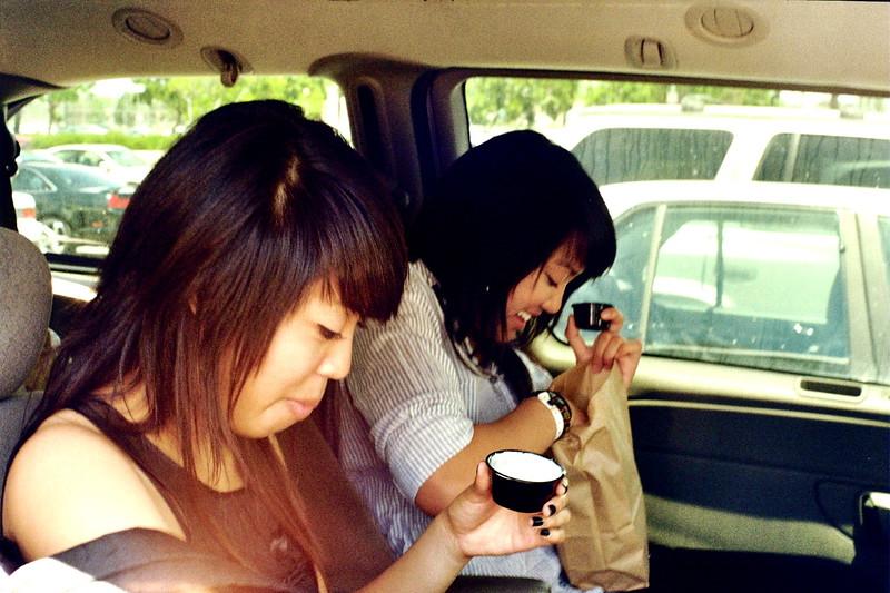 AJ + Rachel w/ Chicken