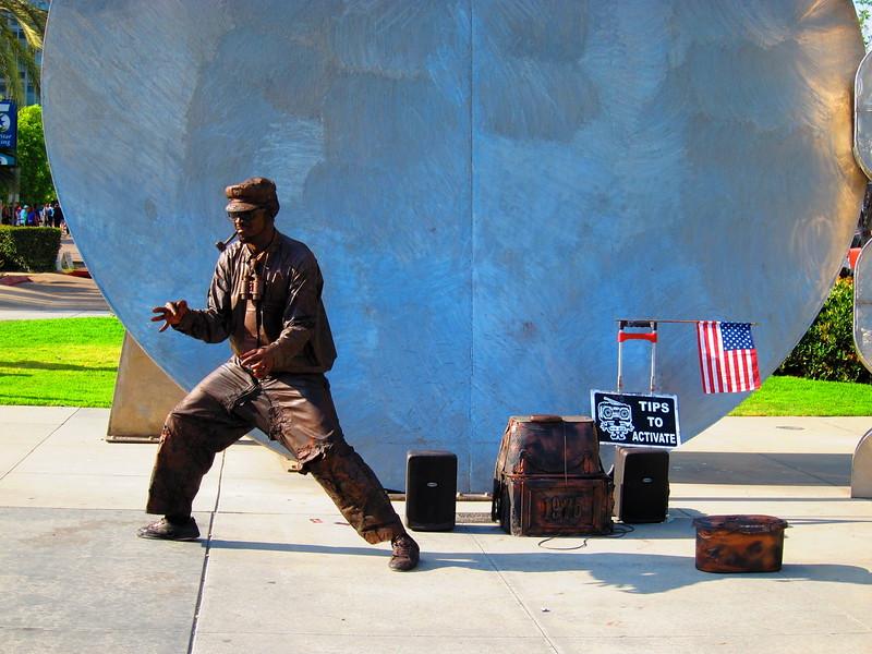 Dancing Copper Man