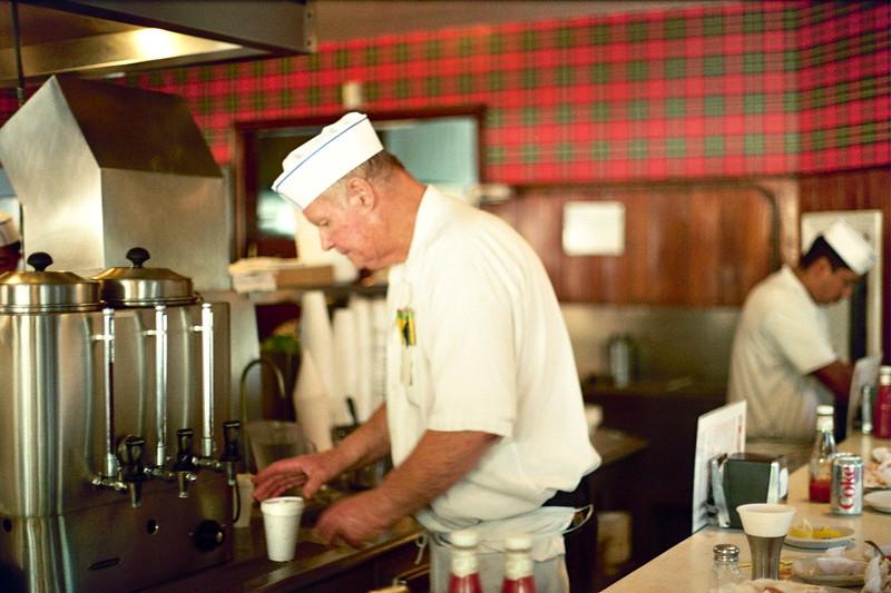 Old Waiter