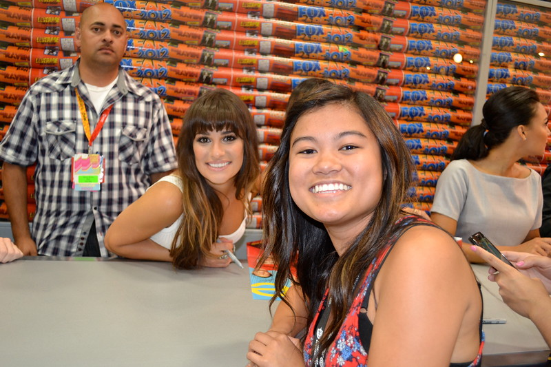 Comic-Con: Glee Signing @ FOX Booth-
