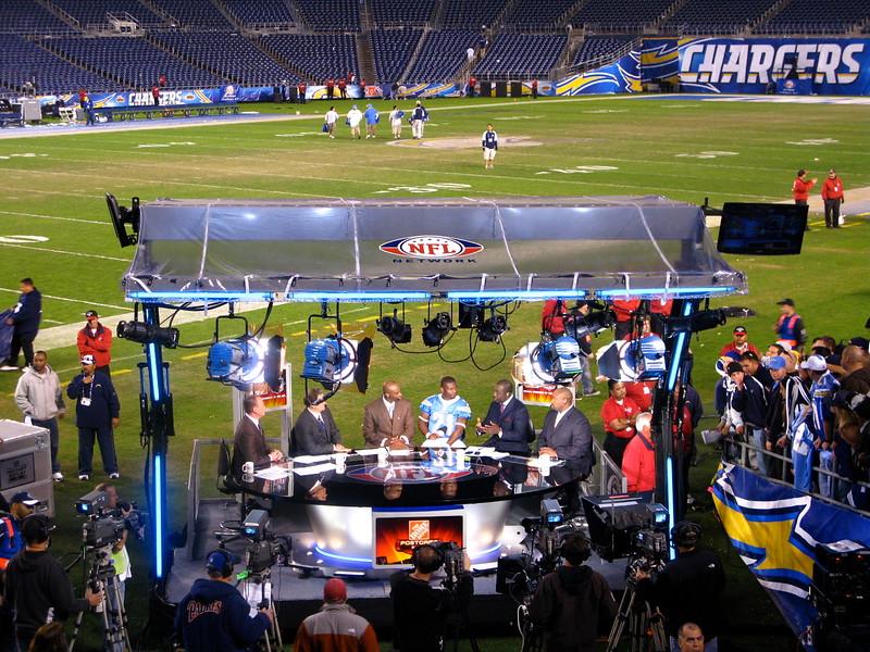 NFL Network Crew w/LT
