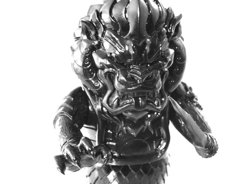 Unpainted Black Mongolion