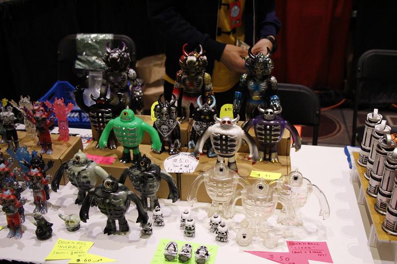 Skull Toys @ Designer Con 2014