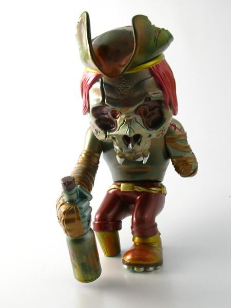 Pushead 'Yarr Red Grogg' FHP Skullcaptain