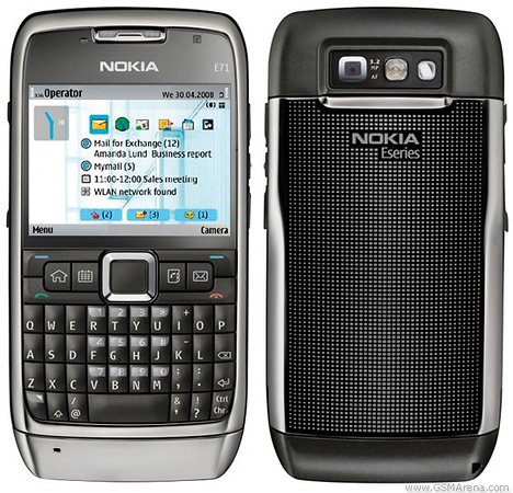 Revised- Nokia E71