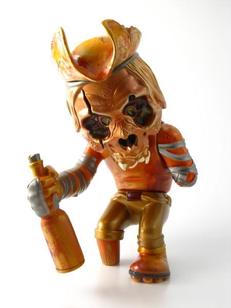 Pushead 'Ye Golden Swig'  FHP Skullcaptain