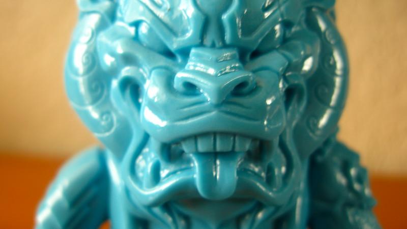 Unpainted Blue Mongolion