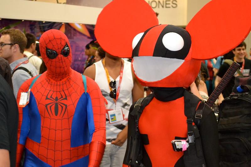 Spiderman/ Deadmaus