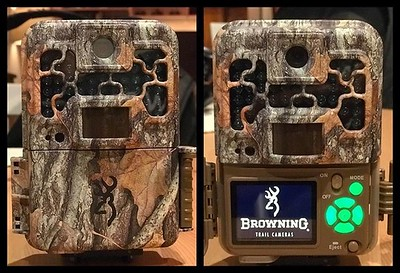 Testing this @browningtrailcams trail camera. It replaced the cheaper one I bought in Amazon which broke down after just a few days. The quality of the initial video is significantly better than other cameras I've tested. I'll be using it at the backyard