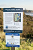 Pillar Point Bluff <br /> The Post Sign at Pillar Point Bluff       . I left this image large so you could read the sign if you wished. It's mainly addressing the Pampas Grass issue.